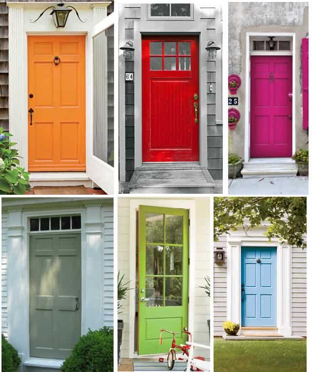 The perfect front door color kristina wolf design - Exterior door paint colours model ...