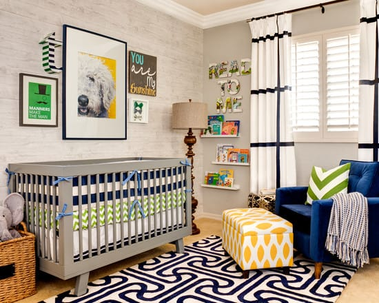 9 Ways to Create a Modern Nursery for a Boy : KWD