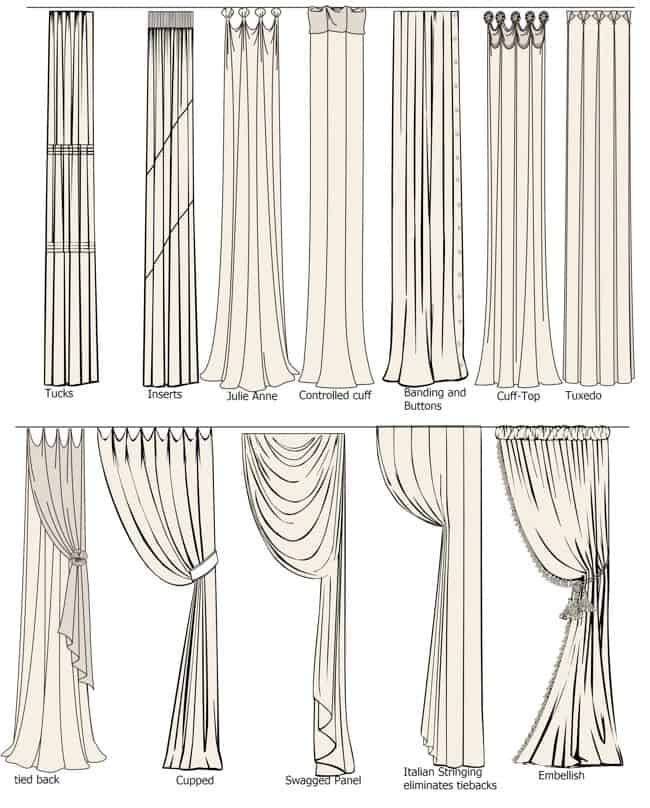 Hang Curtains Creative Ways To Hang Curtains Curtain Image