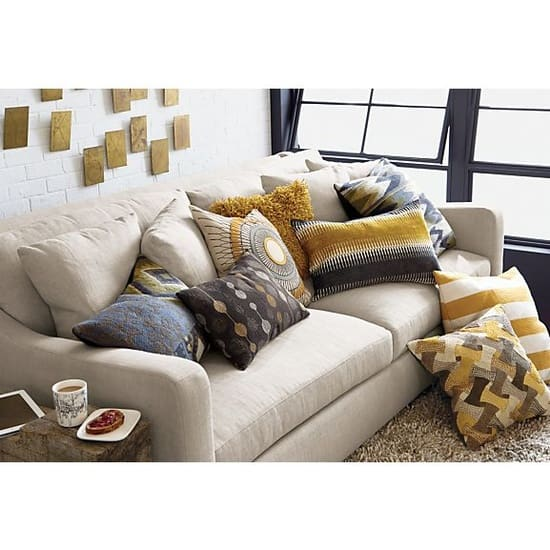 How Many Throw Pillows On A Sectional Couch : How Many Throw Pillows Is Too Many? Kristina Wolf