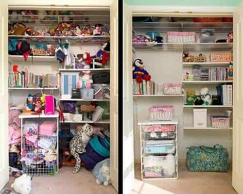 A guide to what stays and what goes kristina wolf design Declutter bedroom
